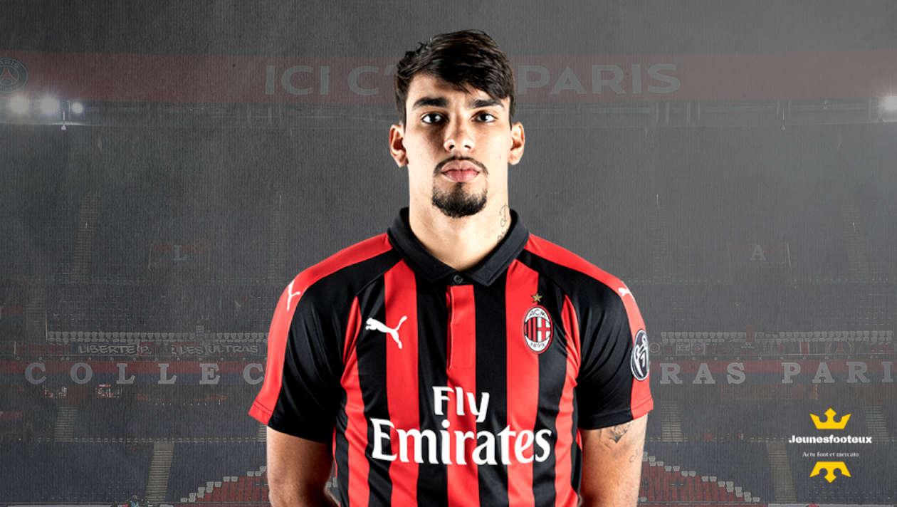 Lucas Paqueta : milieu offensif brésilien du Milan AC