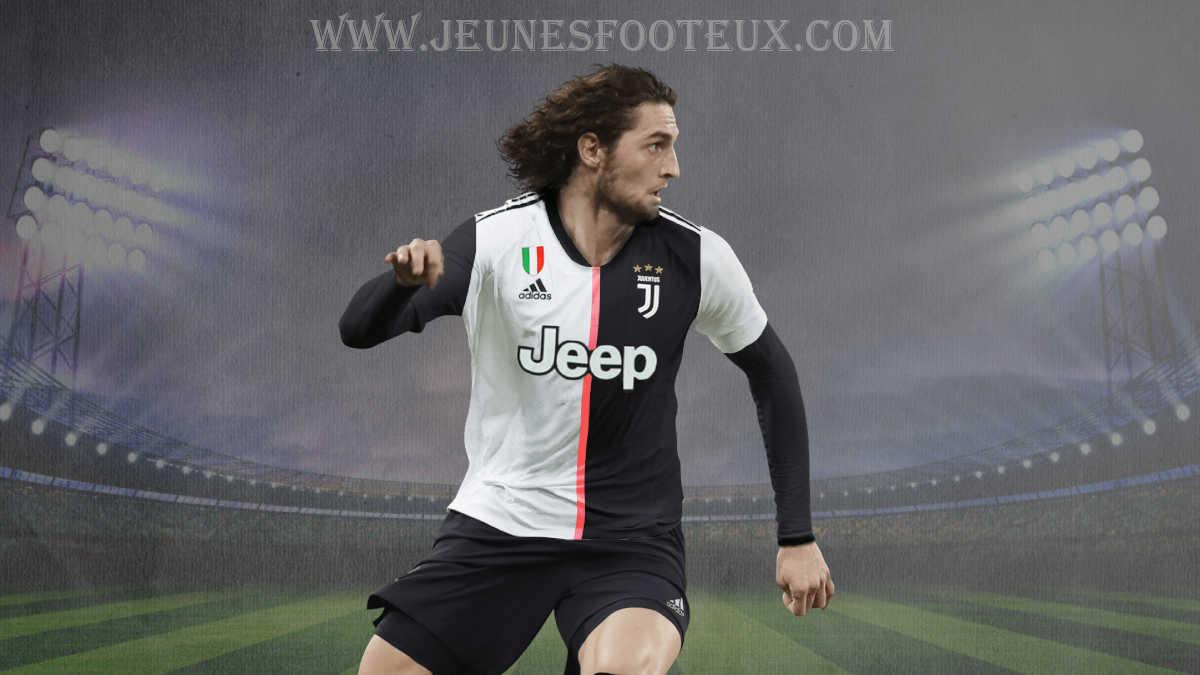 Adrien Rabiot : milieu de terrain français de la Juventus