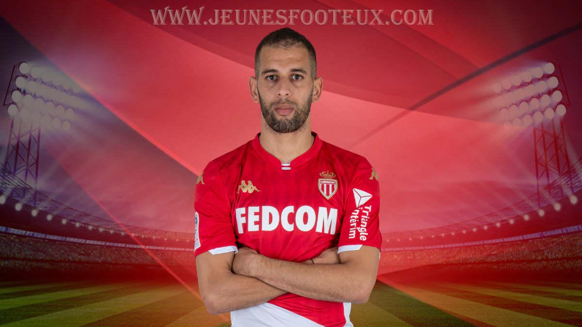 Islam Slimani : attaquant international algérien prêté par Leicester à l' AS Monaco