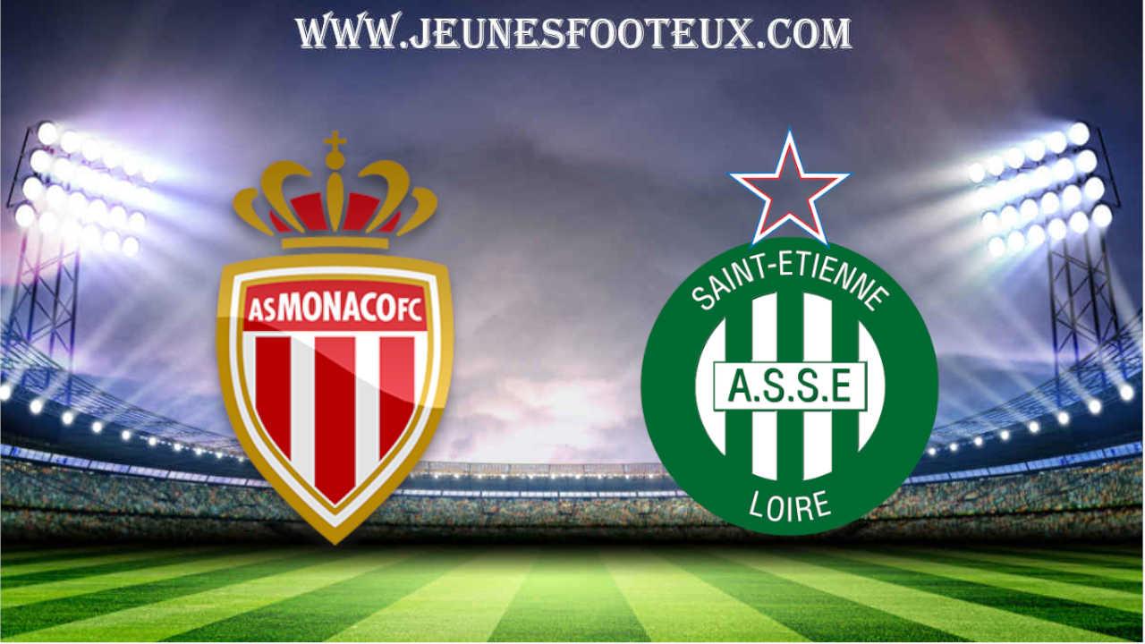 Monaco - St Etienne : Coupe de France