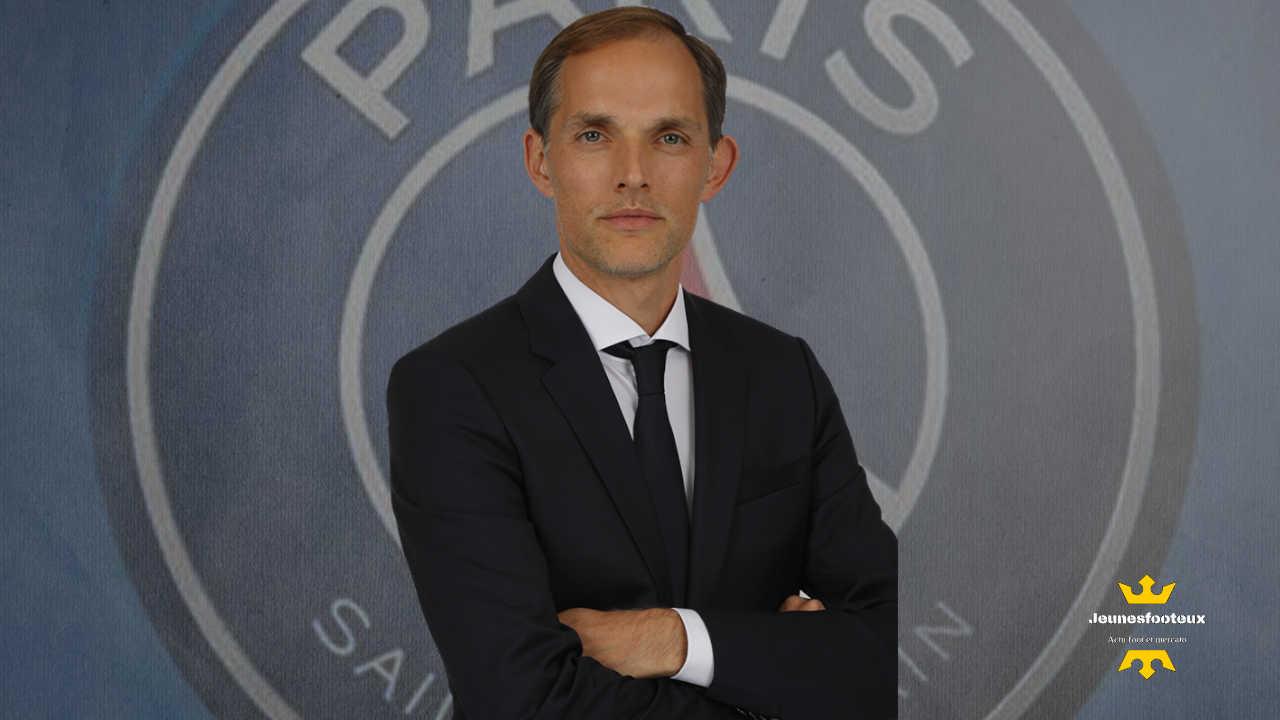 PSG - Paris SG : Thomas Tuchel