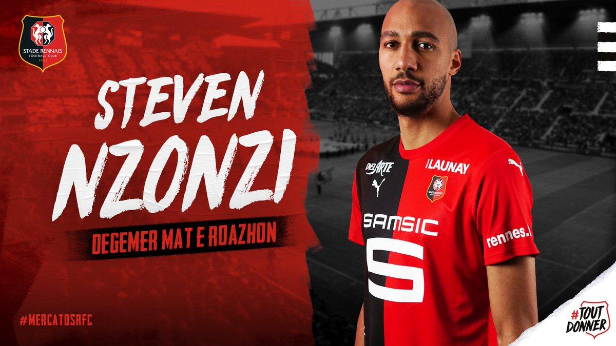 Stade Rennais - Mercato : Steven Nonzi (site officiel du SRFC)