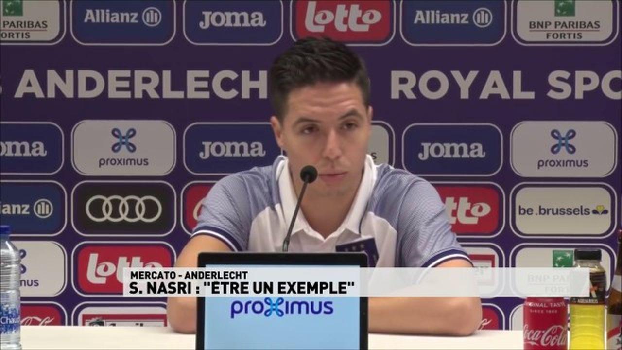 Anderlecht : Samir Nasri, milieu offensif de 32 ans