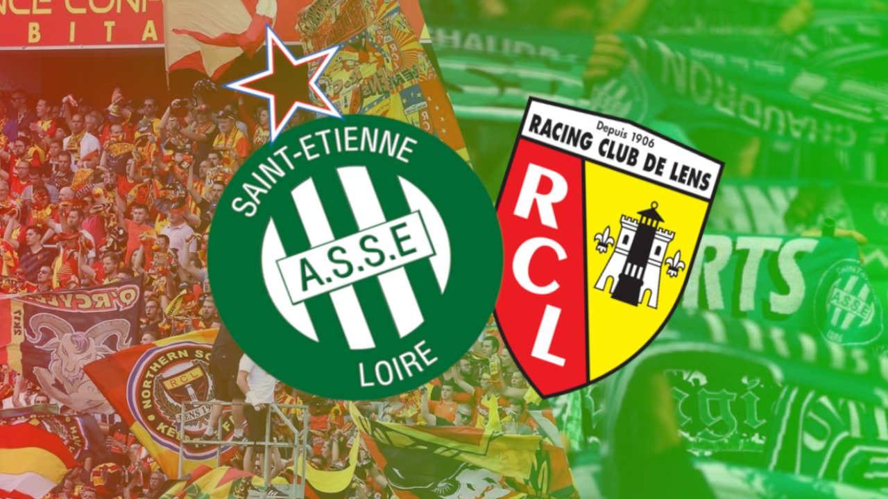 RC Lens, ASSE : Les Sang et Or de St Etienne