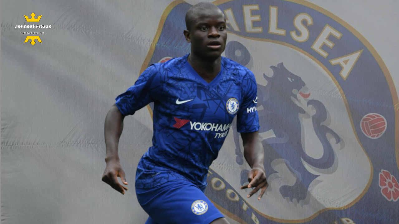 Chelsea : N'Golo Kanté, milieu de terrain international français