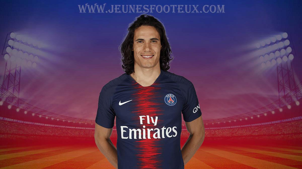 PSG - Paris SG : Edinson Cavani