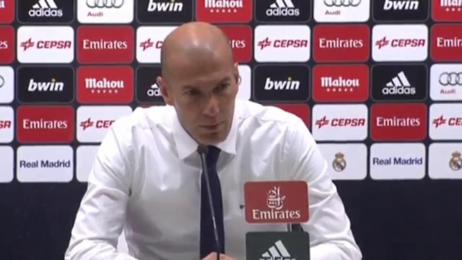 Real Madrid - Manchester CIty : Zidane