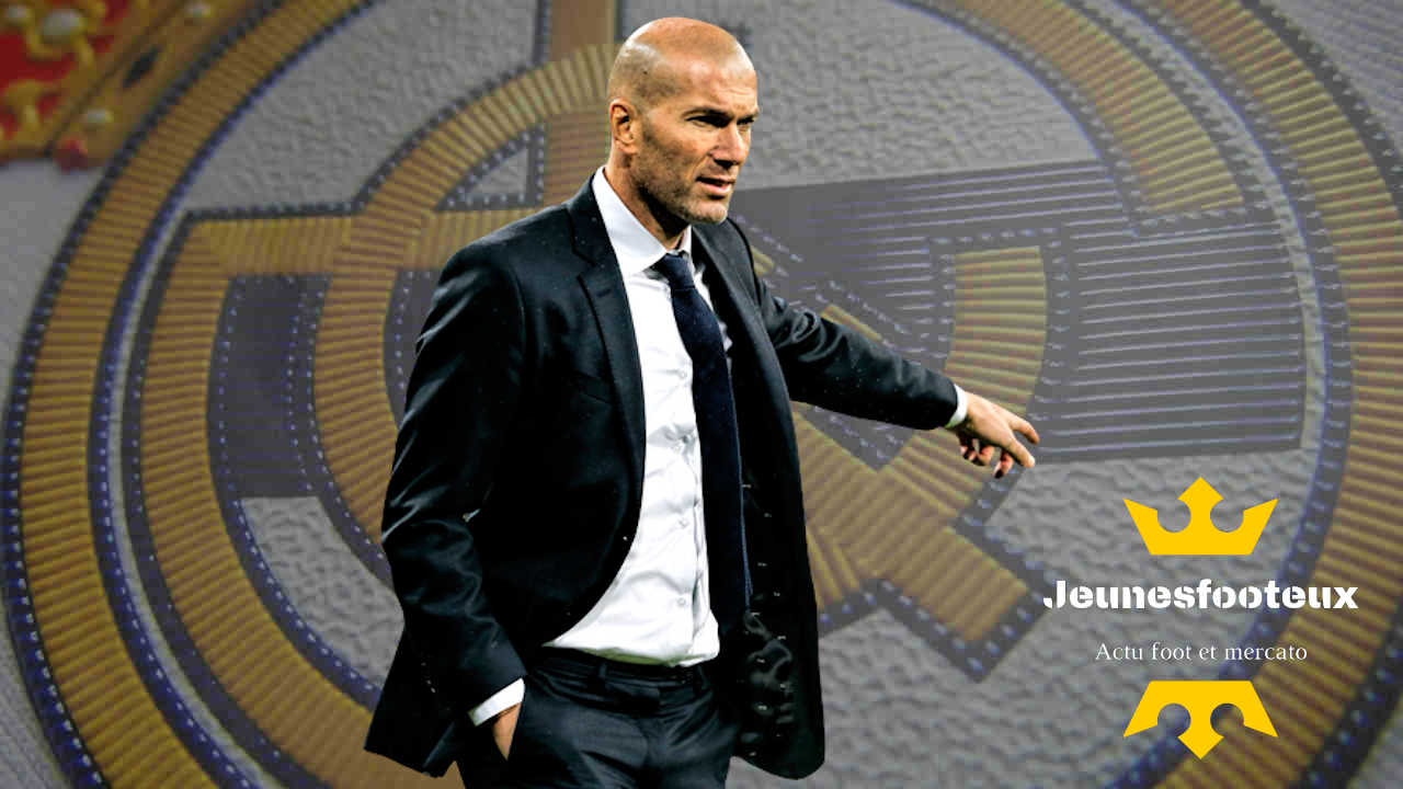 Real Madrid : Zidane entraîneur du Real
