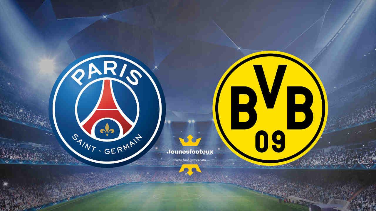 PSG-Dortmund : Paris SG vs Borussia Dortmund