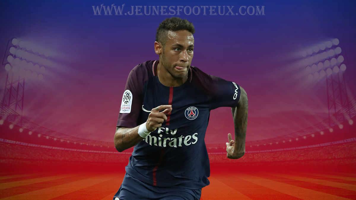 PSG : Neymar, attaquant brésilien du Paris SG