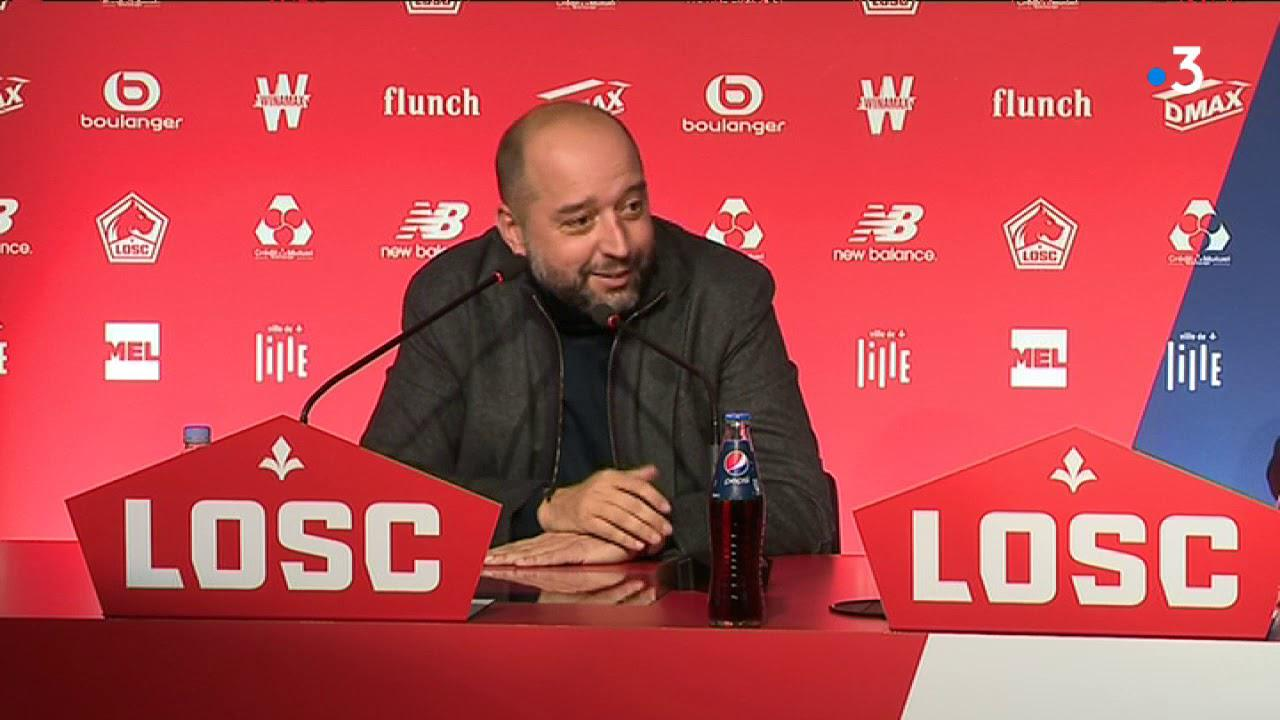 LOSC : Gérard Lopez, président de Lille OSC