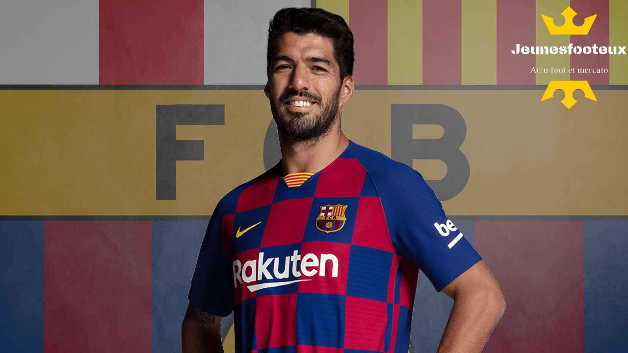 Barça : Luis Suarez, attaquant du FC Barcelone