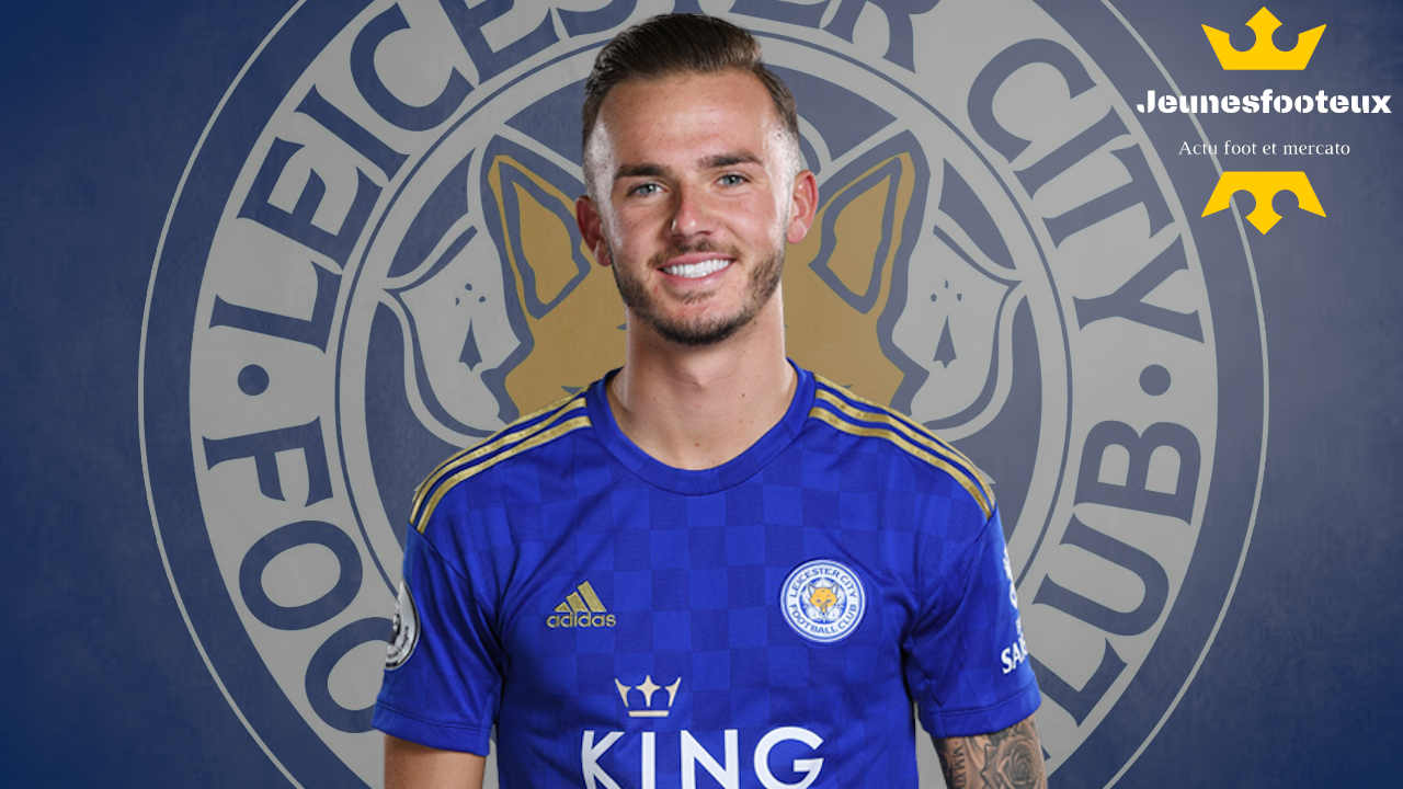 Leicester, Real Madrid - Mercato : James Maddison