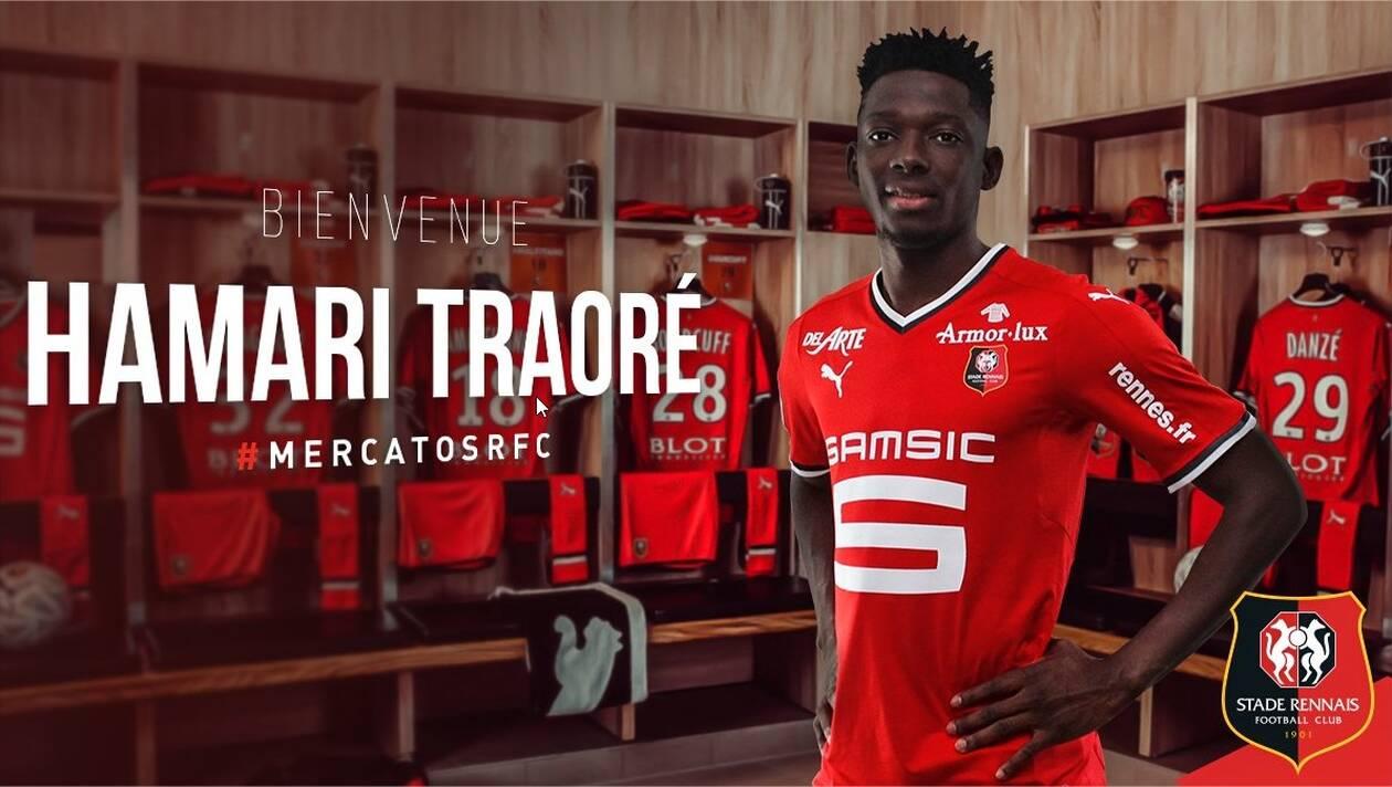 Stade Rennais - Mercato : Hamari Traoré