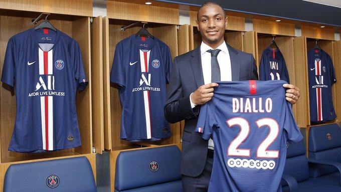 PSG : Abdou Diallo, défenseur du Paris SG.