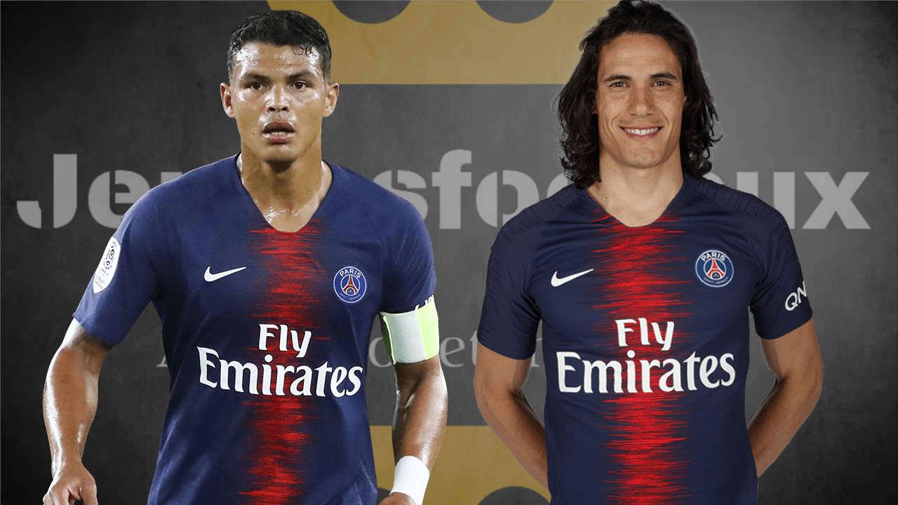 PSG Mercato : Cavani et Thiago Silva au Paris SG