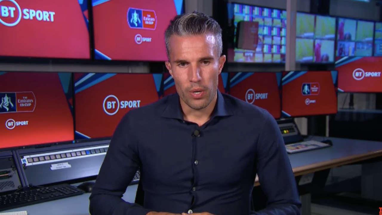 Arsenal : Robin Van Persie se paie David Luiz