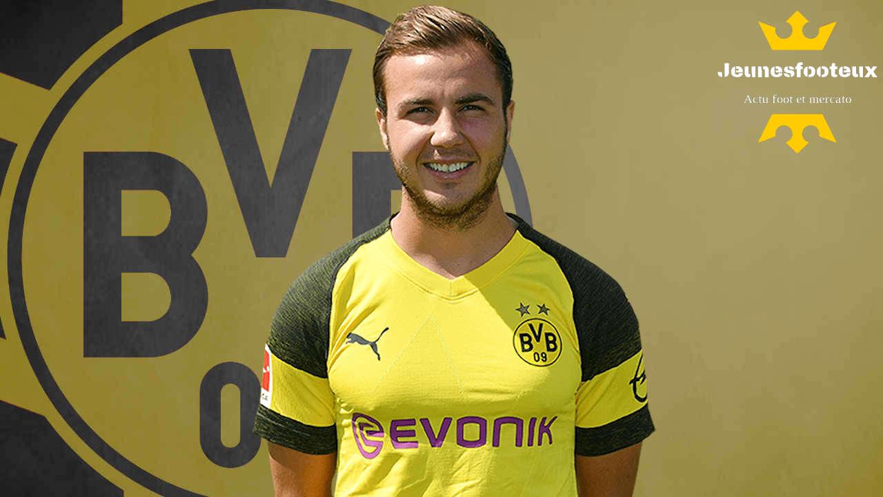 AS Monaco : Mario Götze (Borussia Dortmund) ciblé ?