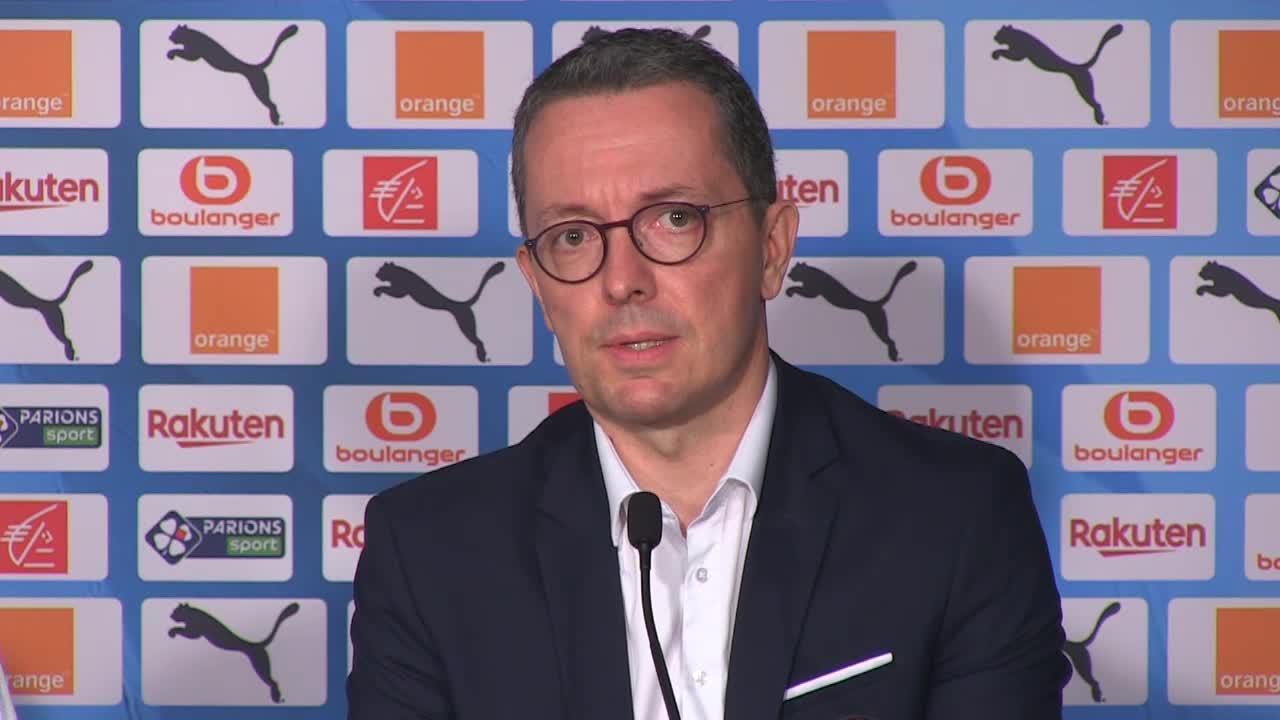 Mercato OM : Eyraud (Olympique de Marseille).