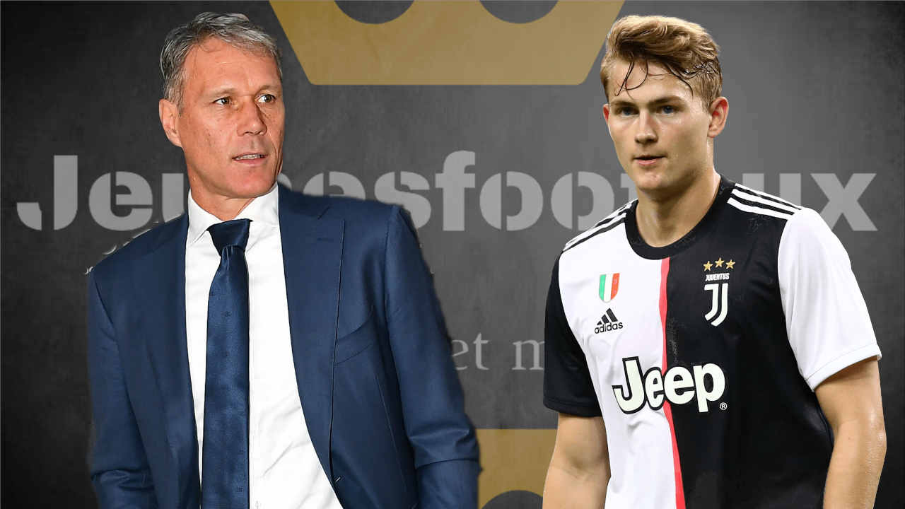 Juventus : Van Basten très critique envers De Ligt !