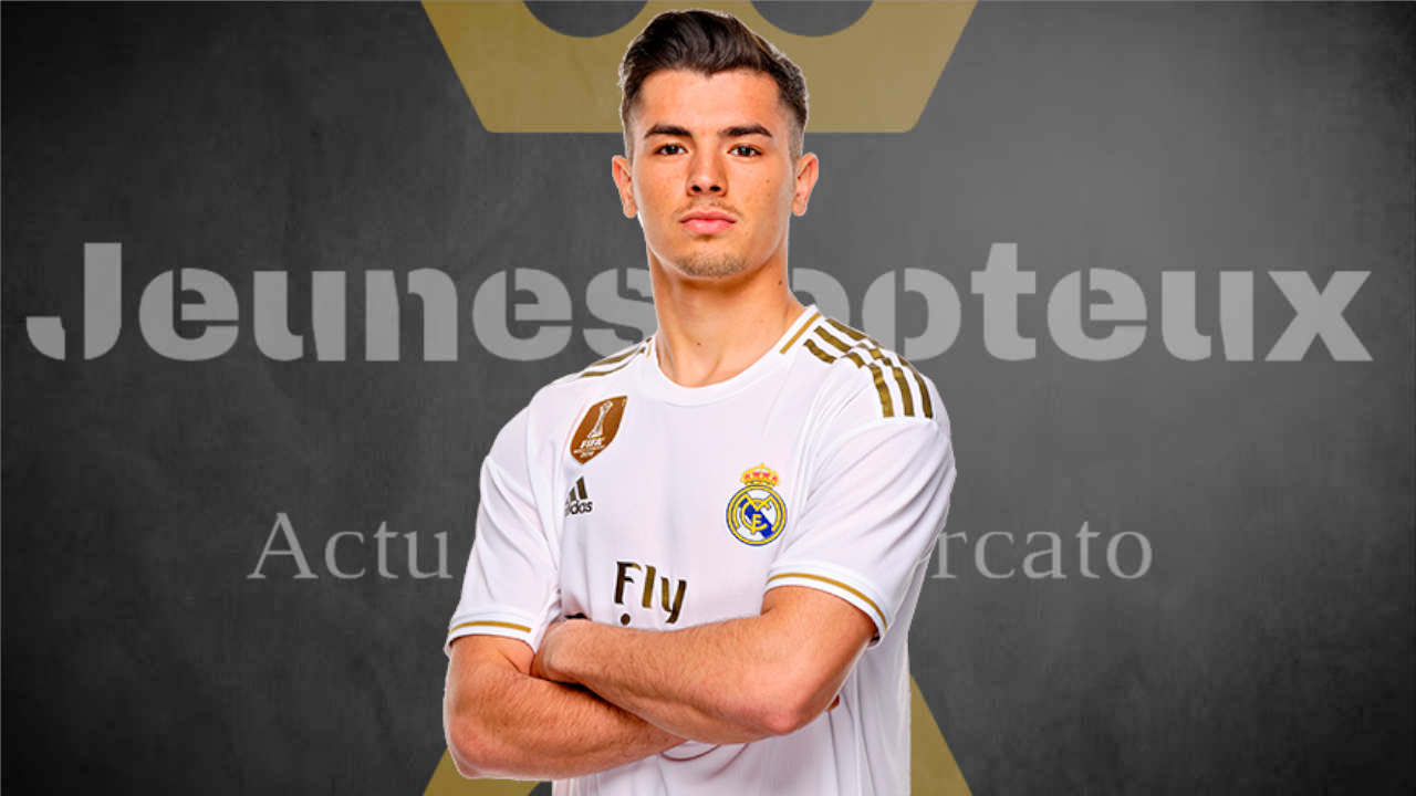 Brahim Diaz, milieu offensif du Real Madrid