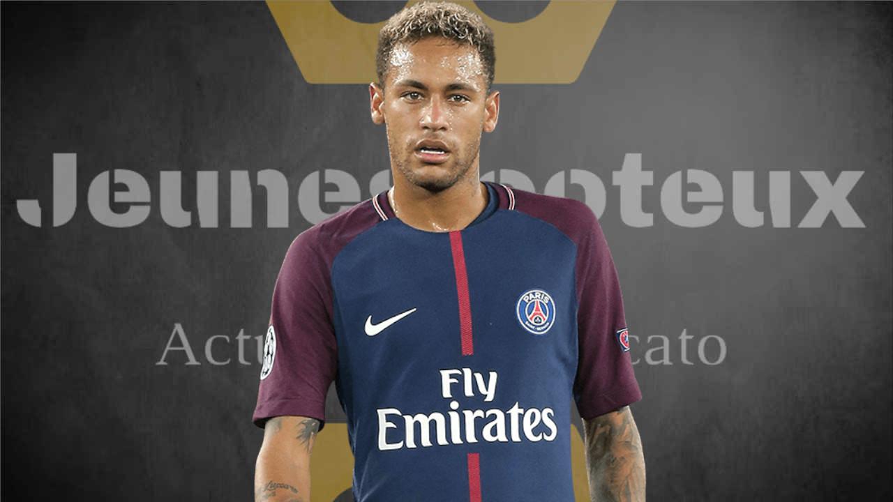 Neymar, attaquant du PSG