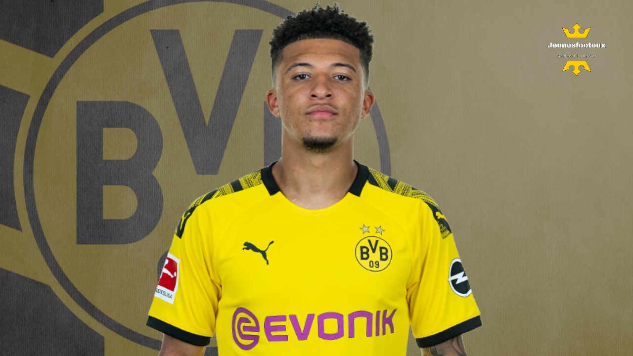 Jadon Sancho, attaquant du Borussia Dortmund