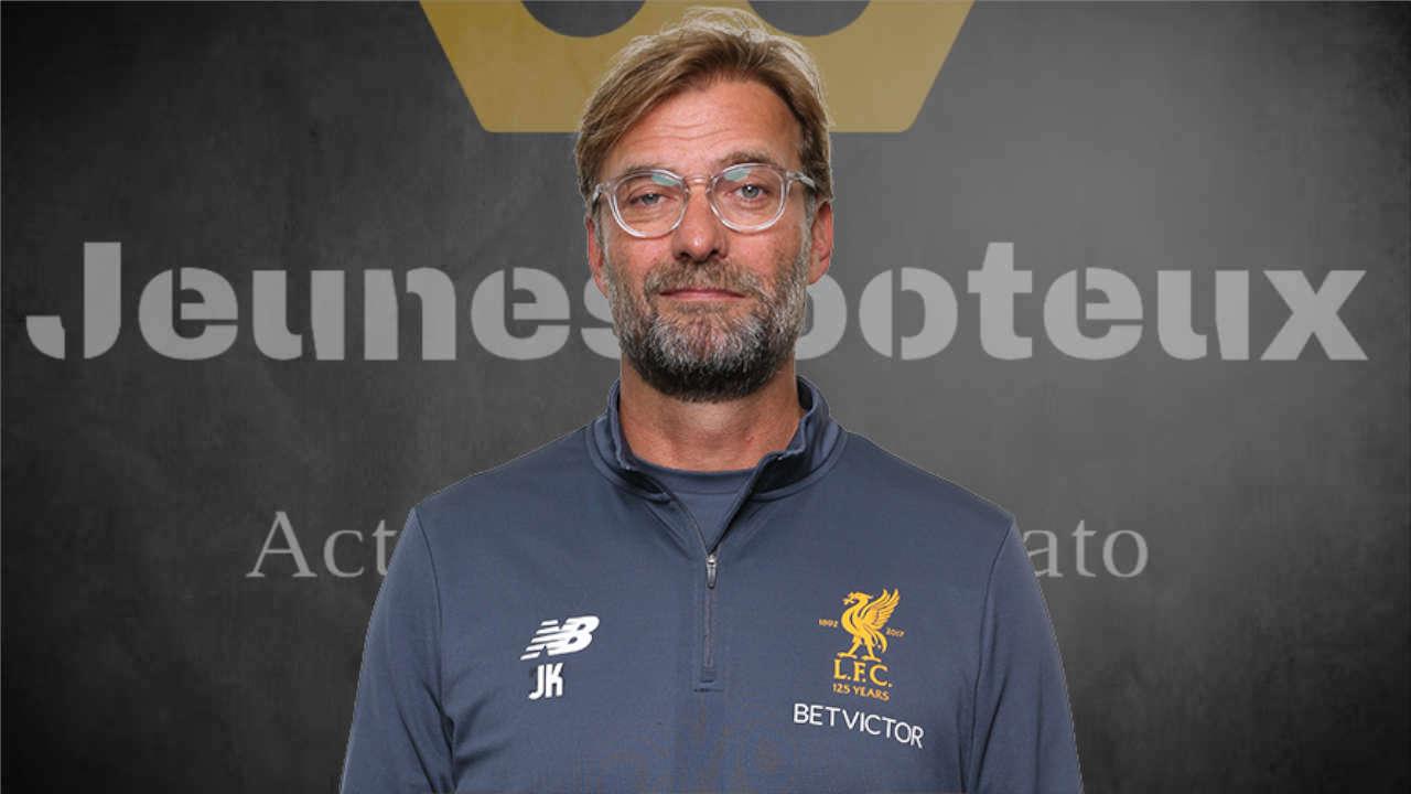 Liverpool FC : Jürgen Klopp (entraîneur des Reds).