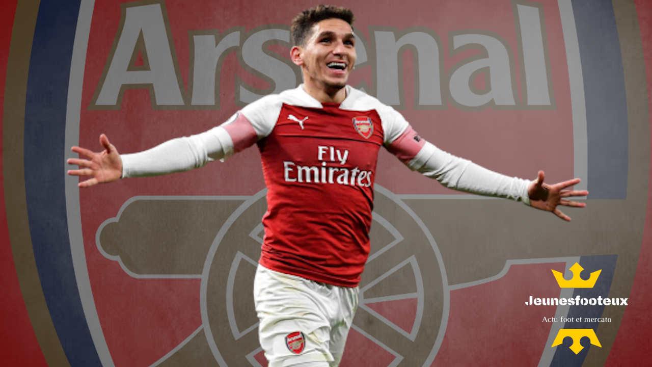 Lucas Torreira, milieu de terrain d'Arsenal