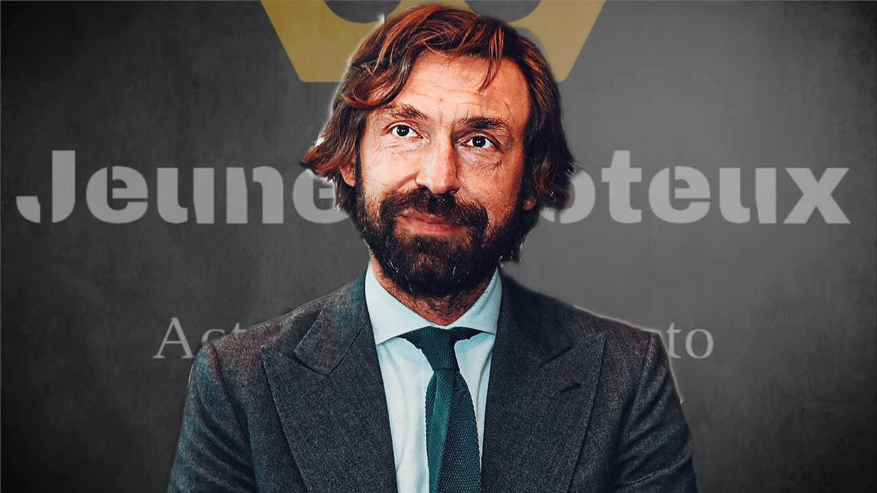 Andréa Pirlo, entraîneur de la Juventus