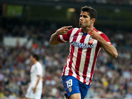 Diego Costa à l'Atlético Madrid