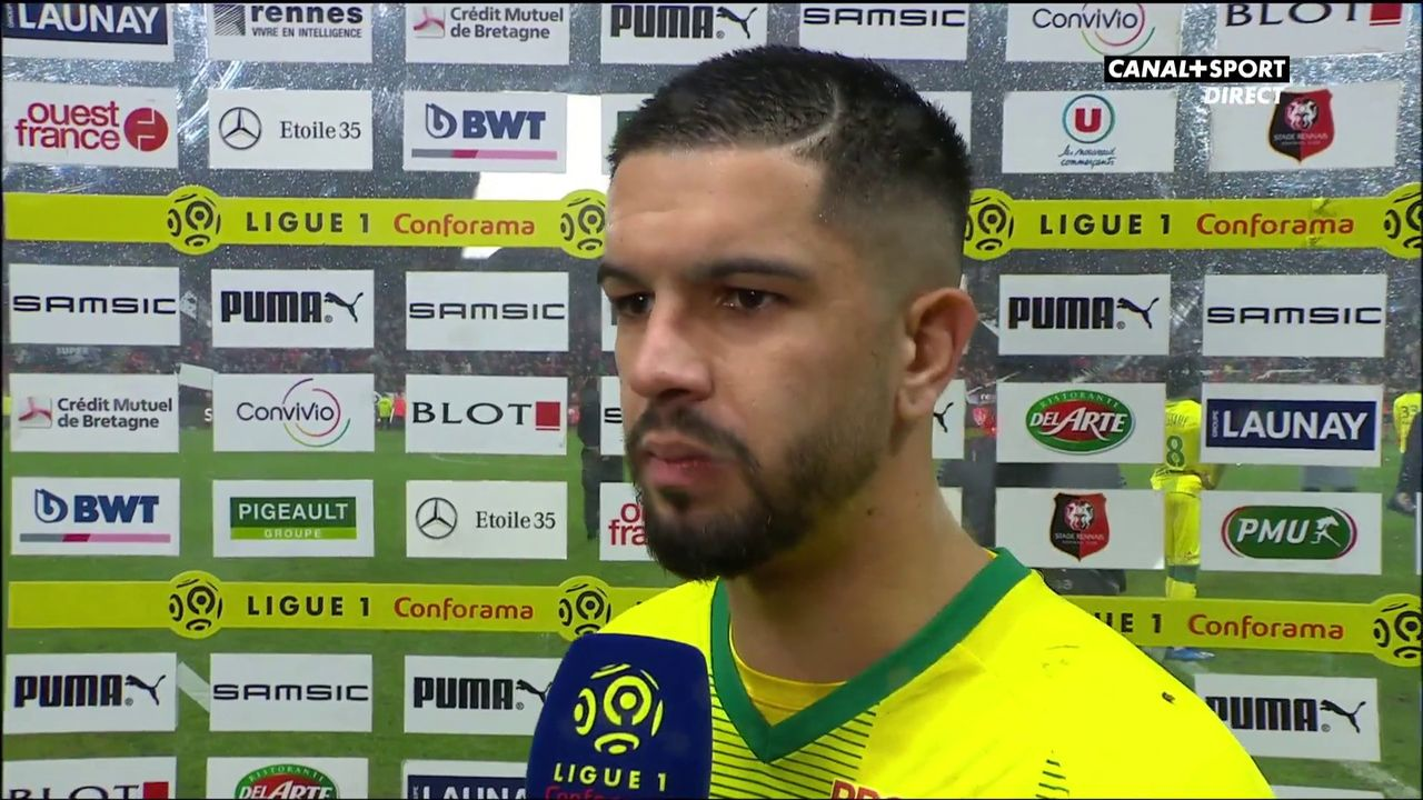 FC Nantes : Imran Louza (milieu offensif, FCN).