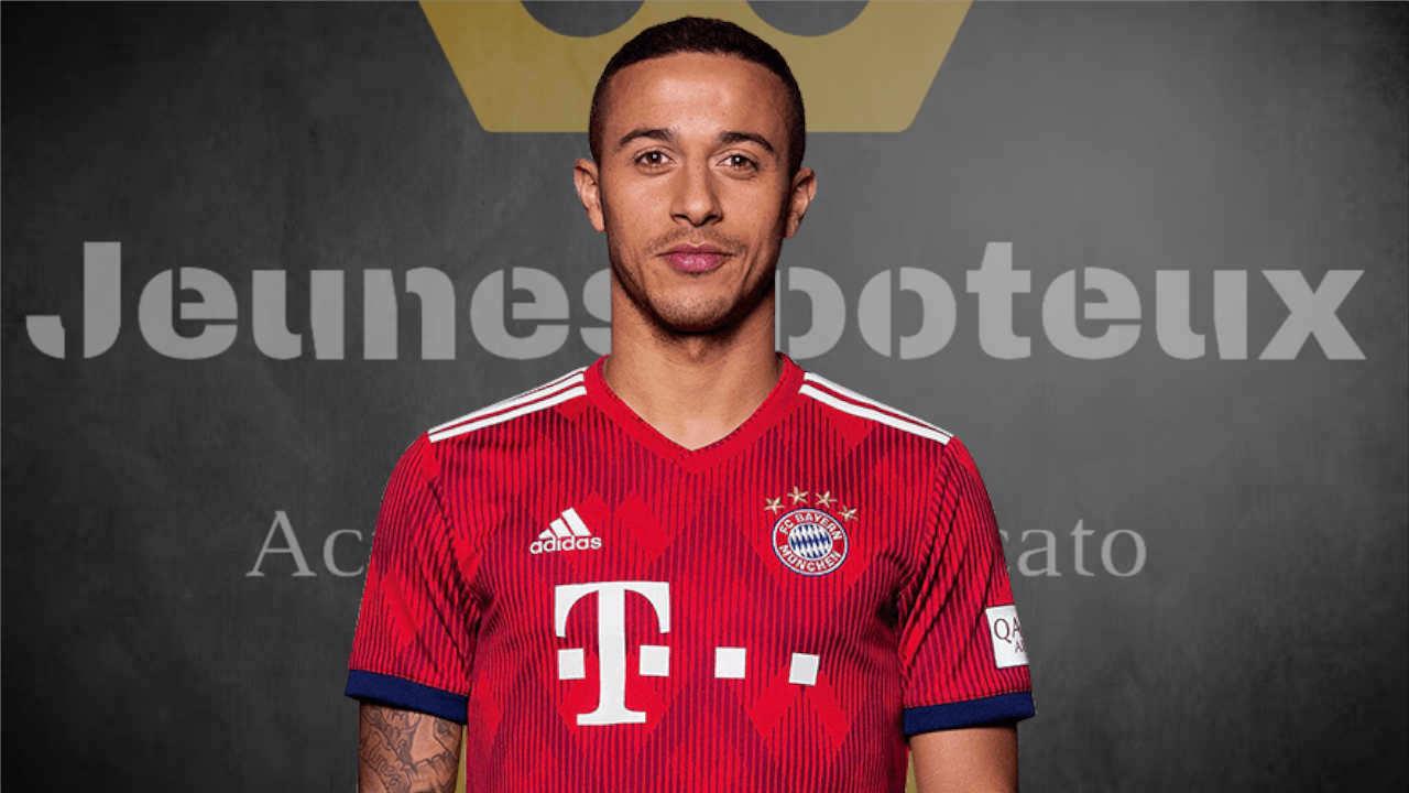 Thiago Alcantara, milieu de terrain du Bayern Munich