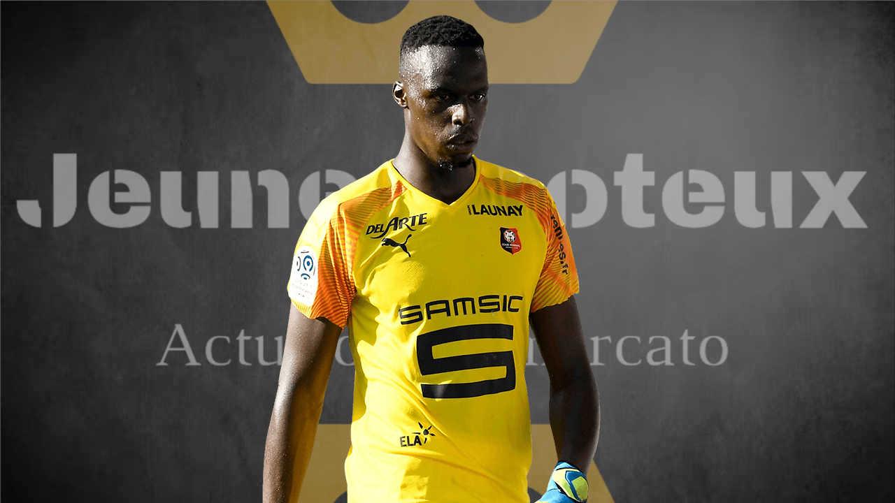 Edouard Mendy, gardien du Stade Rennais
