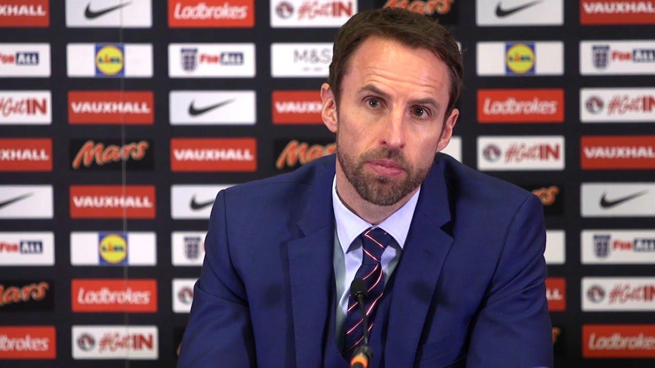 Gareth Southgate, sélectionneur de l'Angleterre