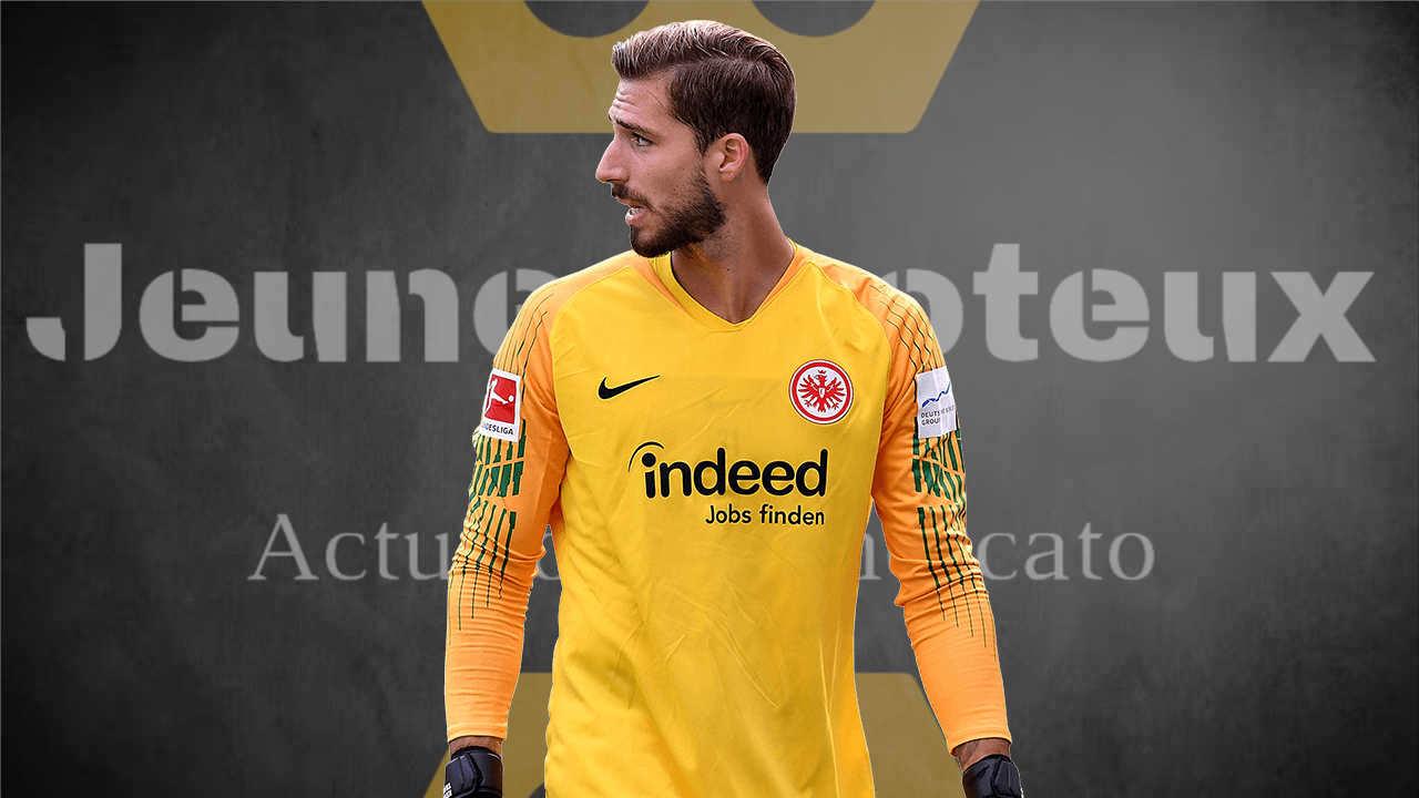 Kevin Trapp, gardien de l'Eintracht Francfort