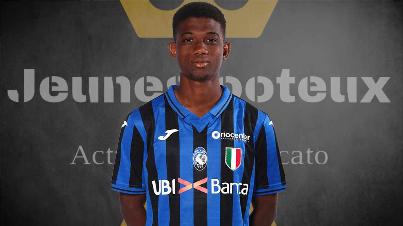 Amad Traoré, milieu offensif de l'Atalanta Bergame