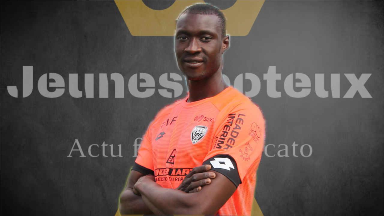 Alfred Gomis, gardien de Dijon FCO