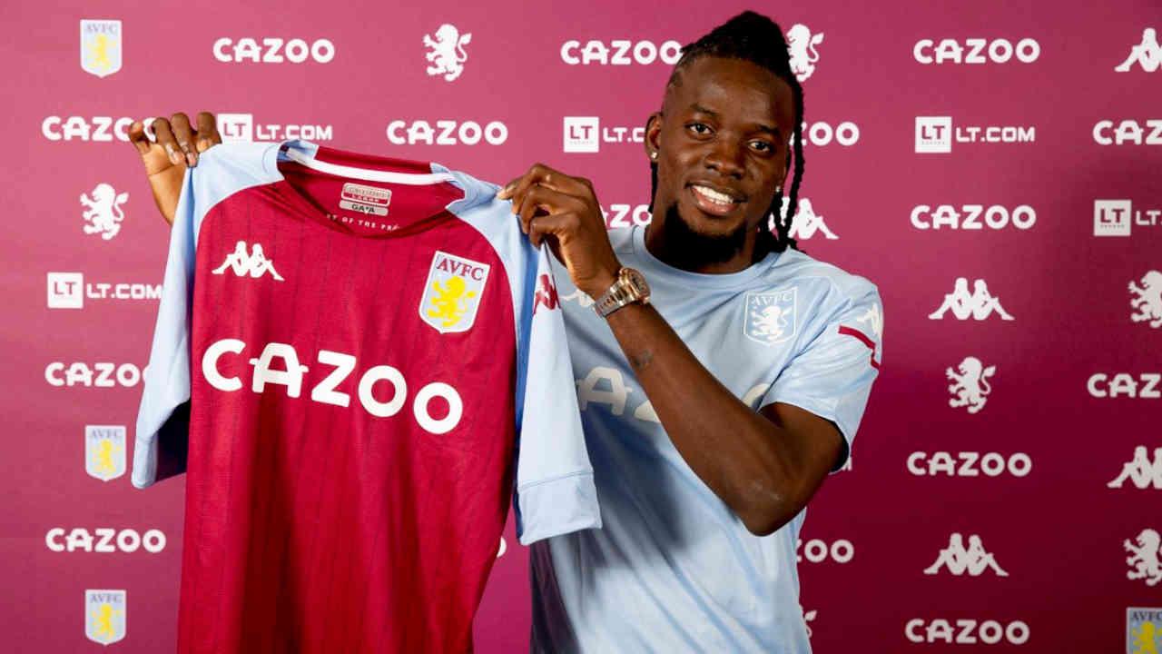 Bertrand Traoré signe à Aston Villa