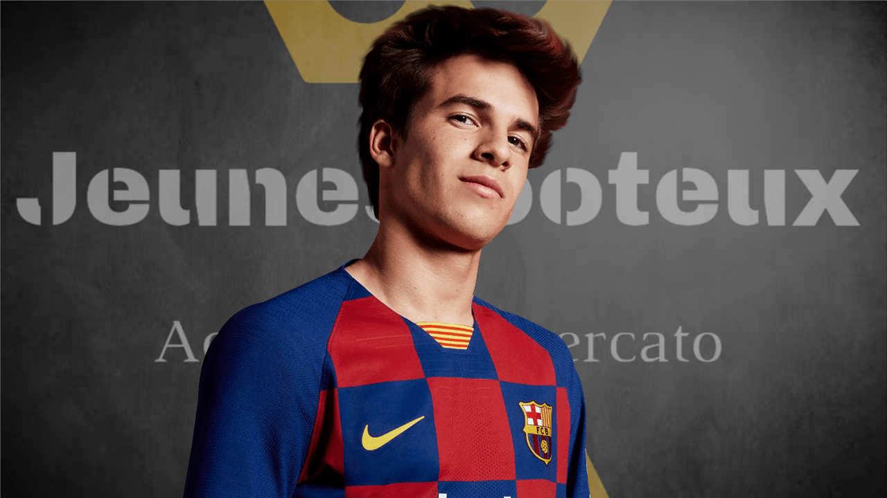Riqui Puig, milieu de terrain du FC Barcelone