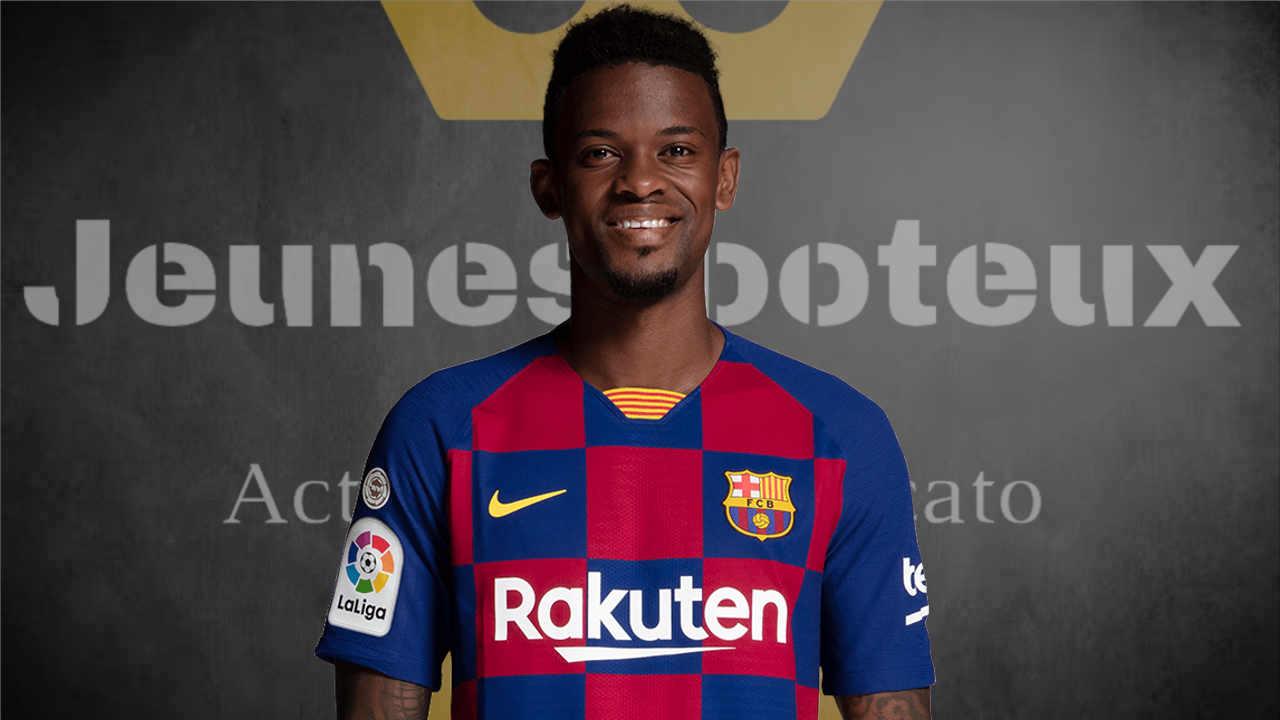 Nelson Semedo, arrière latéral droit du FC Barcelone