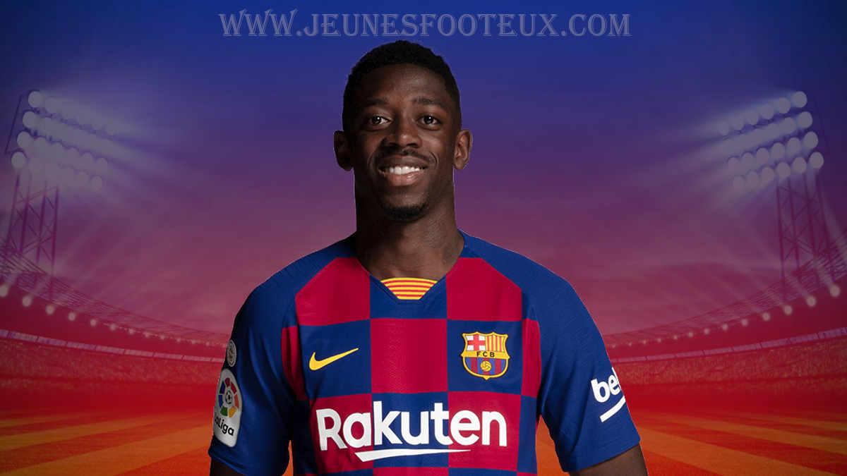 Ousmane Dembélé, ailier du FC Barcelone