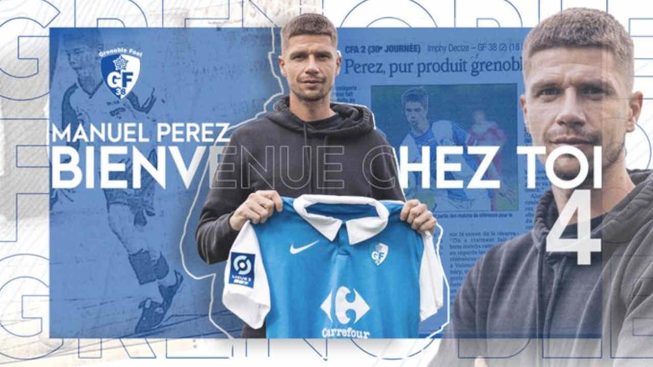 Mercato RC Lens : Manu Perez signe à Grenoble