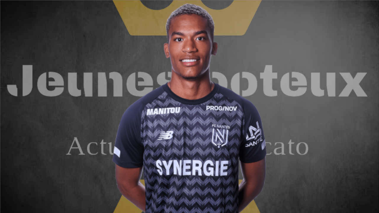 Alban Lafont, gardien du FC Nantes
