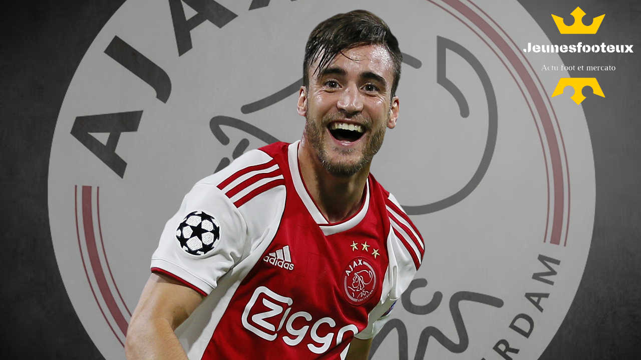 Nicolas Tagliafico, arrière latéral gauche de l'Ajax Amsterdam