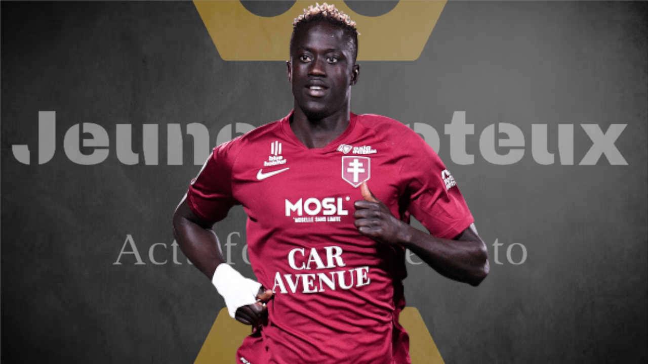 Ibrahima Niane, attaquant du FC Metz