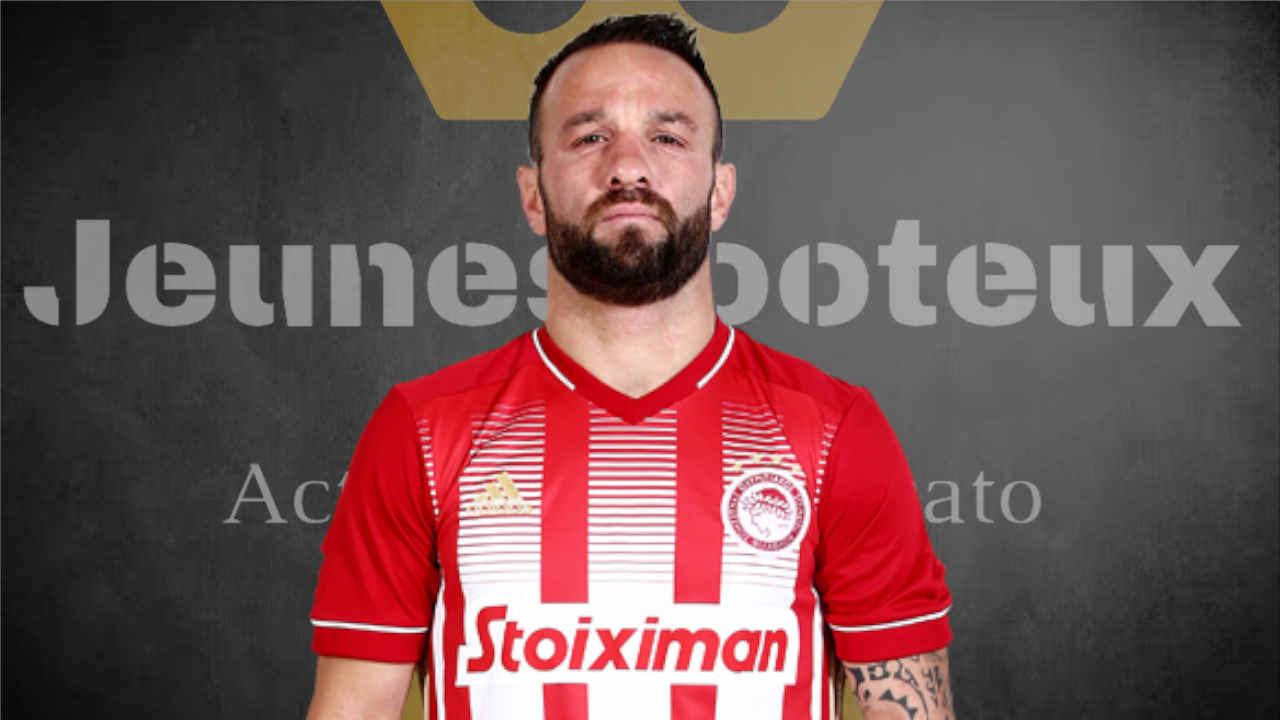 Mathieu Valbuena, ex joueur de l'Olympiakos et de l'OM