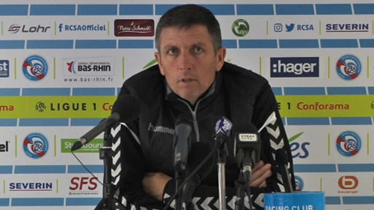 Strasbourg : Laurey son adjoint et un joueur positifs à la Covid-19