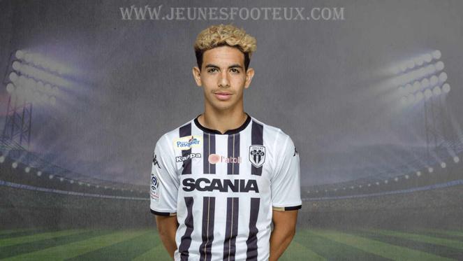 Rayan Aït-Nouri ici sous le maillot de Angers SCO.