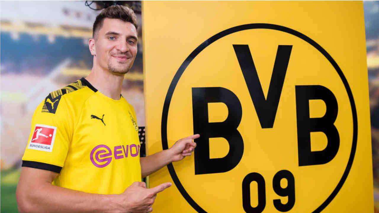 FC Bruges - Borussia Dortmund : Thomas Meunier (ex PSG).